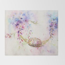 Wisteria Dream Throw Blanket