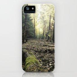 Autumn green iPhone Case