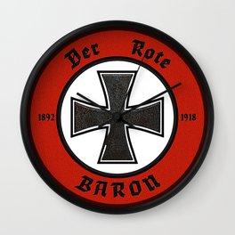 Der Rote Baron - 1918 Wall Clock