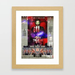 "THE PROPHET ""The Bloody Truth"" Framed Art Print"