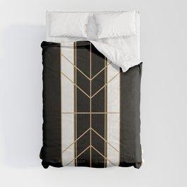 Black & Gold - Art Deco Comforters