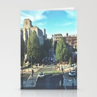 hustle Stationery Cards featuring Hustle by Out of Line