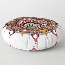 mandala 004 Floor Pillow