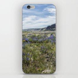 Wildflowers near Steens Mountain Wilderness iPhone Skin