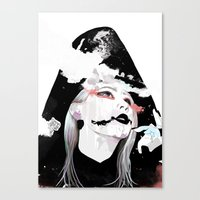 2ne1 Canvas Prints featuring CL by Jack Kennedy
