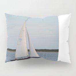 Nantucket Sail boat Pillow Sham