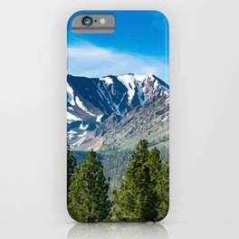 Mammoth Lakes Area, California iPhone Case