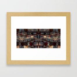 1027 Framed Art Print
