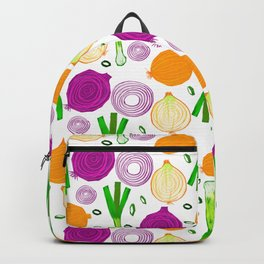 Onions Make You Cry by Keyton Design Backpack