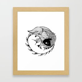 Paces & Iguanas Framed Art Print