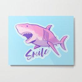 Smile! Metal Print