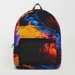 Abstract Splatter Paint v3 Backpack