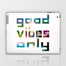 good vibes only // Coachella Laptop & iPad Skin
