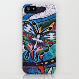Christianity Themed Butterfly Art iPhone Case