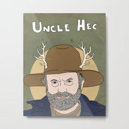 Uncle Hec Metal Print