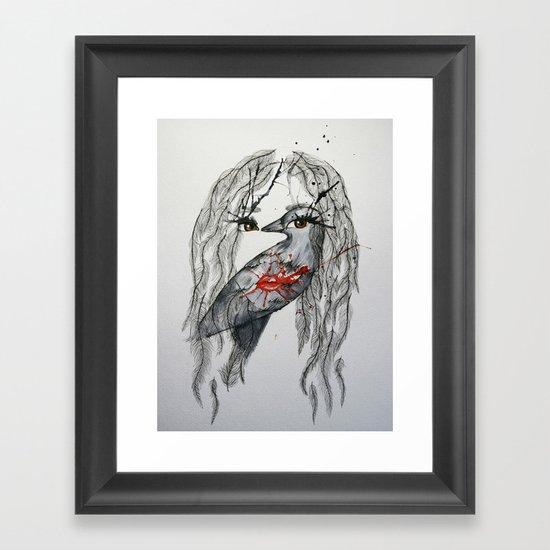 nikki Framed Art Print
