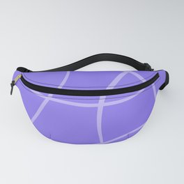 Abstract blue. Fanny Pack