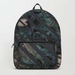 STRIPED FEATHERS - DARK ANGLE Backpack