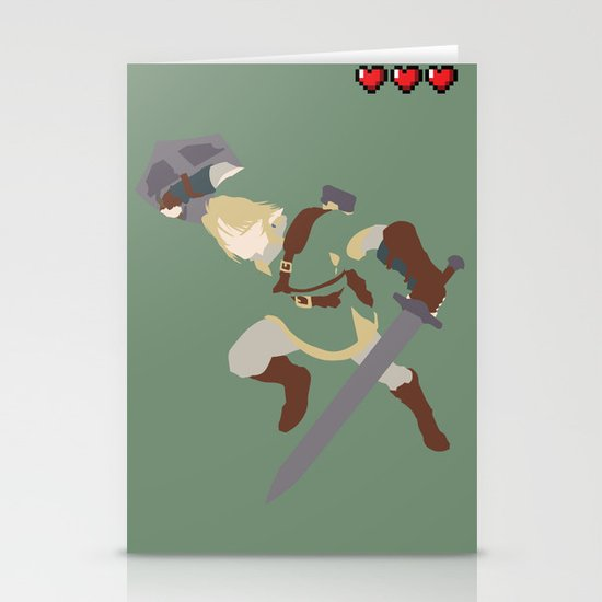 The Legend of Zelda - Link Stationery Cards