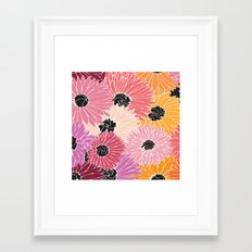 Summer Brunch Framed Art Print