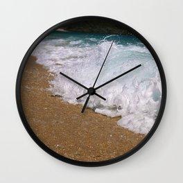 Wave Closeup Wall Clock