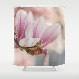 Makro_Magnolie_4 Shower Curtain
