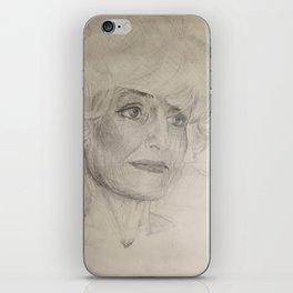 Home Decor Drawing Woman Digital Digital Sketch Modern Room Wall Art Wall Hanging iPhone Skin