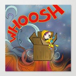Whoosh! Canvas Print