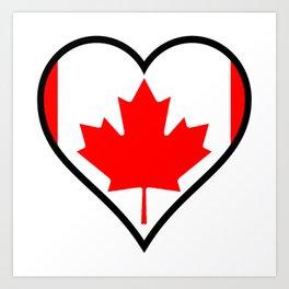 Love Canada Art Print
