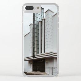 Lisboa Art Deco #06 Clear iPhone Case