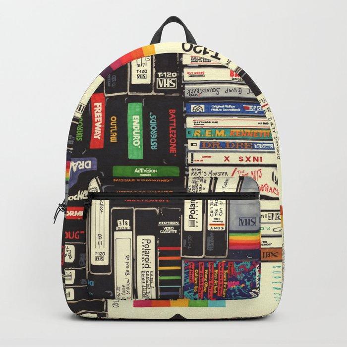 Cassettes, VHS & Games Rucksack