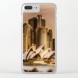 Sydney Cityscape Clear iPhone Case