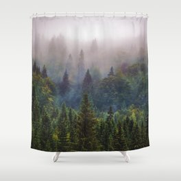 Wander Progression Shower Curtain