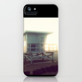 Life Guard Tower iPhone Case
