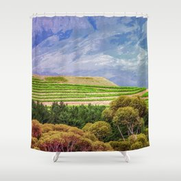 Greener on the Other Side Shower Curtain