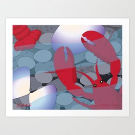 Lobstah Art Print