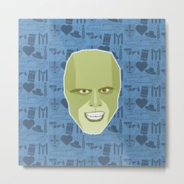 The Mask Metal Print