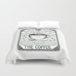 The Coffee Duvet Cover