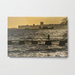 River Plater River Montevideo Uruguay Metal Print