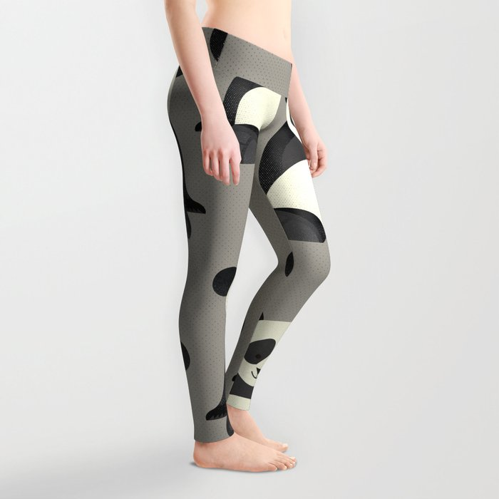 Whimsy Giant Panda Leggings