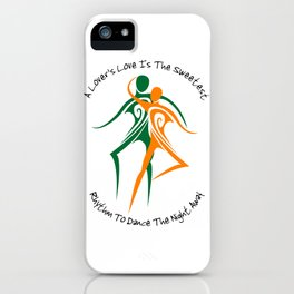 Love's Rhythm iPhone Case