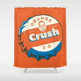 Denver's Orange Crush Defense TWO POINT OH! Shower Curtain