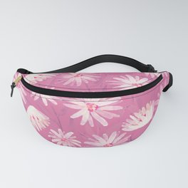 Watercolor spring flowers 5 Fanny Pack