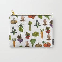 market pattern Carry-All Pouch