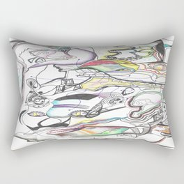 In Two Minds 1  Rectangular Pillow