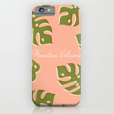 Monstera Deliciosa Slim Case iPhone 6s