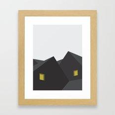 SORT HUS Framed Art Print