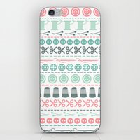 sewing iPhone & iPod Skins featuring Sewing by Heleen van Buul