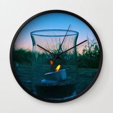 Seaside flame Wall Clock