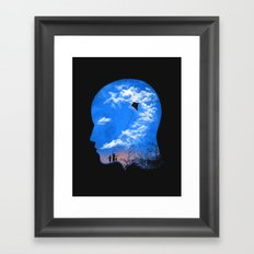 Pulling Out Some Thoughts Framed Art Print